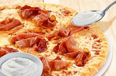 thunfisch pizza in der ss